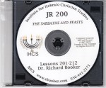 JR200 - Sabbaths and Feasts MP3 PDF for Diploma