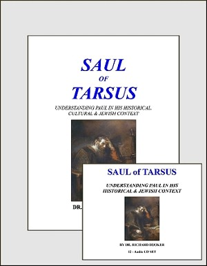 Saul of Tarsus - Elective Course 12 CDs Syllabus